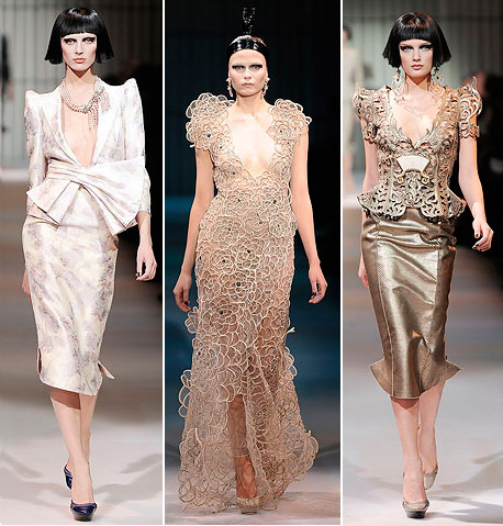Armani Prive Haute Couture Spring 2009 collection metallic 5