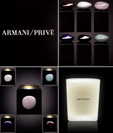 Make Your Scent Last Longer With Armani Privé Scented Candles!
