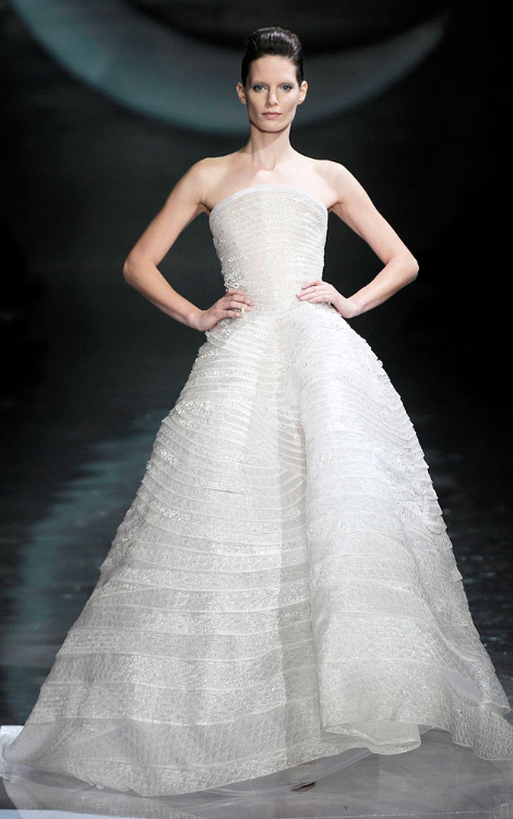 Armani Prive Spring 2010 oscars dress