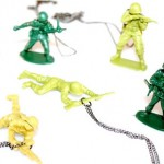 Army Men Necklace