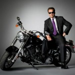 Arnold Schwartzenegger Terminator Motrocycle