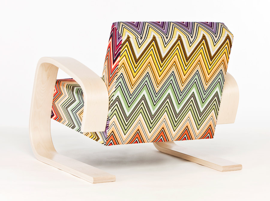 Artek Tank Chair Missoni 1
