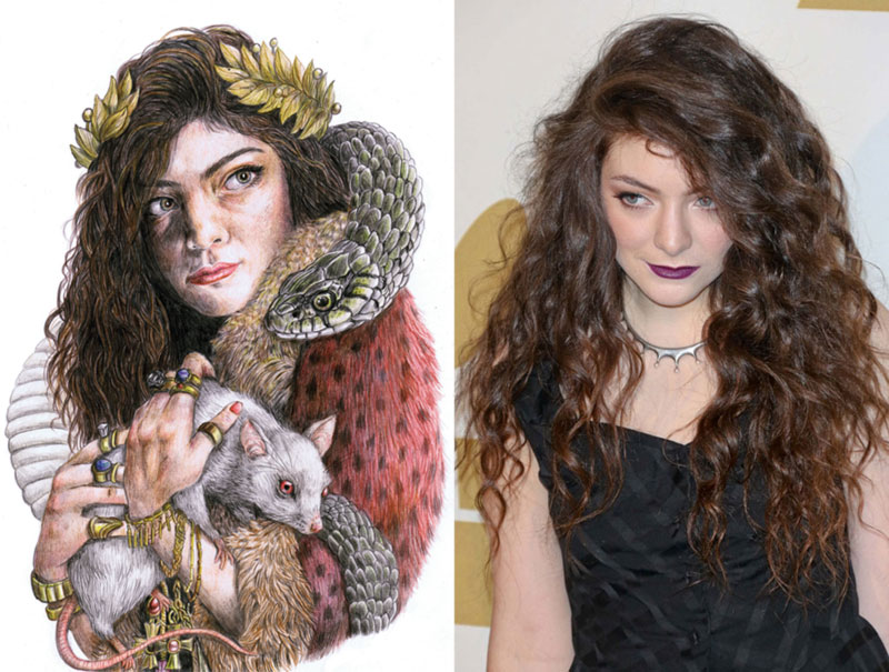 artwork Lorde first album