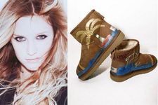 Ashlee Simpson Ugg Boot