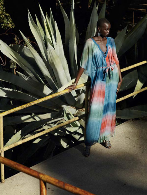 Ataui Deng&#8217;s Bergdorf Goodman Spring Summer 2011 Catalog