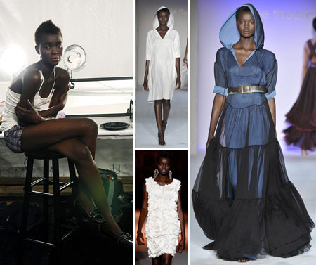 Ataui Deng runway pictures