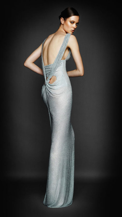 Monika Jagaciak For Atelier Versace Fall Winter 2010 2011