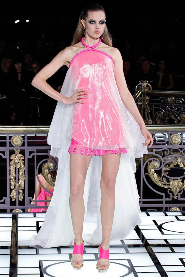 9 Dresses That Rocked Versace Atelier Couture Spring 2013 Collection