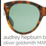 Audrey Hepburn sunglasses Breakfast at Tiffany s