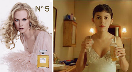 Audrey Tautou Chanel No.5