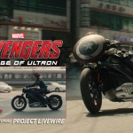 Avengers 2 Age of Ultron Black Widow Motorcycle Harley Davidson