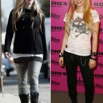 Avril Lavigne before after weight gain