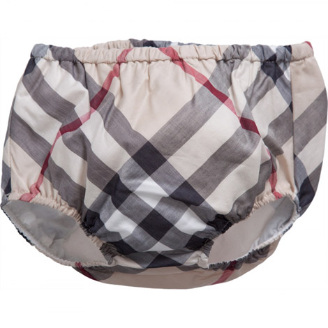 Baby Burberry knickers