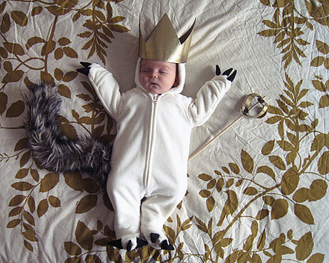 Where the wild things are baby costume