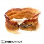 Bacon bracelet handmade
