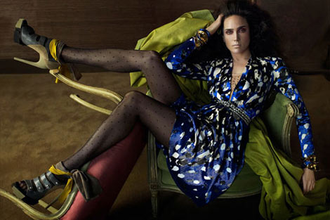 Balenciaga  Fall 09 Jennifer Connelly ad campaign