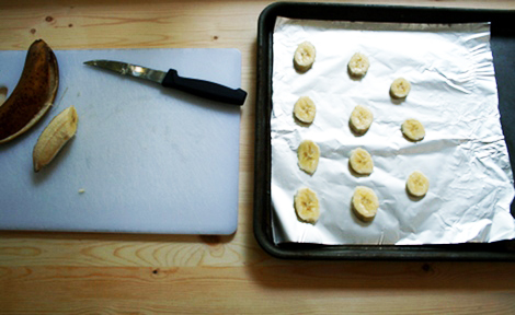 Banana Slices Cookie tray
