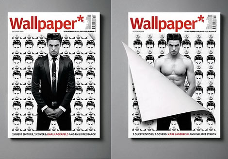 Baptiste Giabiconi Wallpaper October 2009 cover