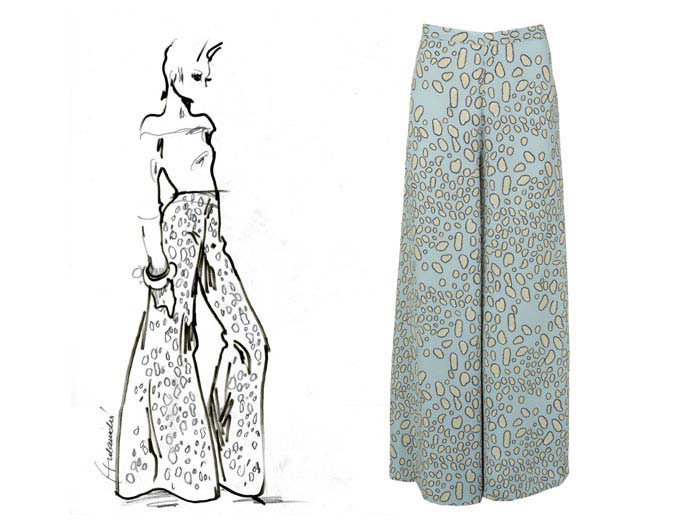 Barbara Hulaniki Topshop Summer 09 pants