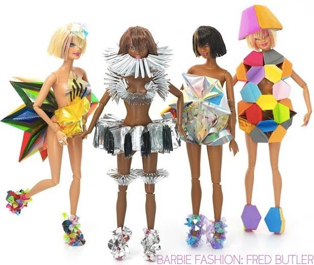 Barbie doll fashion Fred Butler