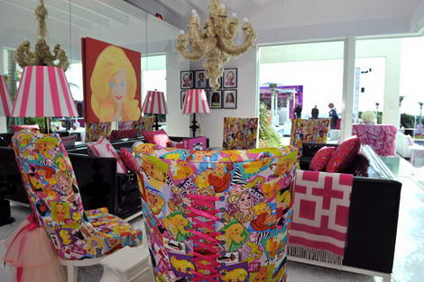 Barbie Dream home Malibu Jonathan Adler