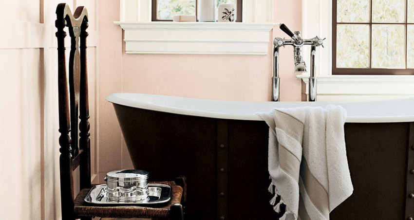 bathroom Ralph Lauren home