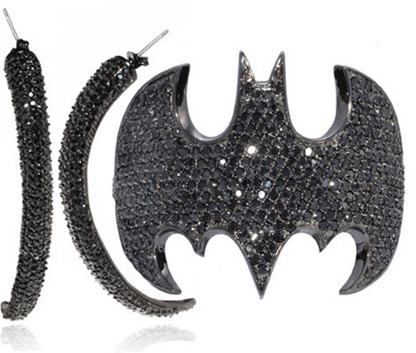 Batman Cuff DC Comics Noir Jewelry