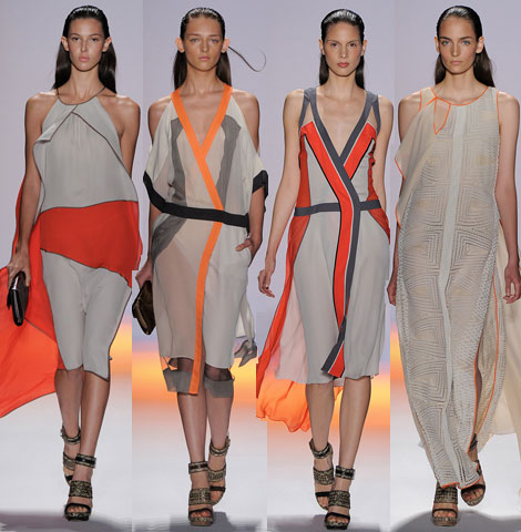 BCBG Max Azria Spring Summer 2012 collection