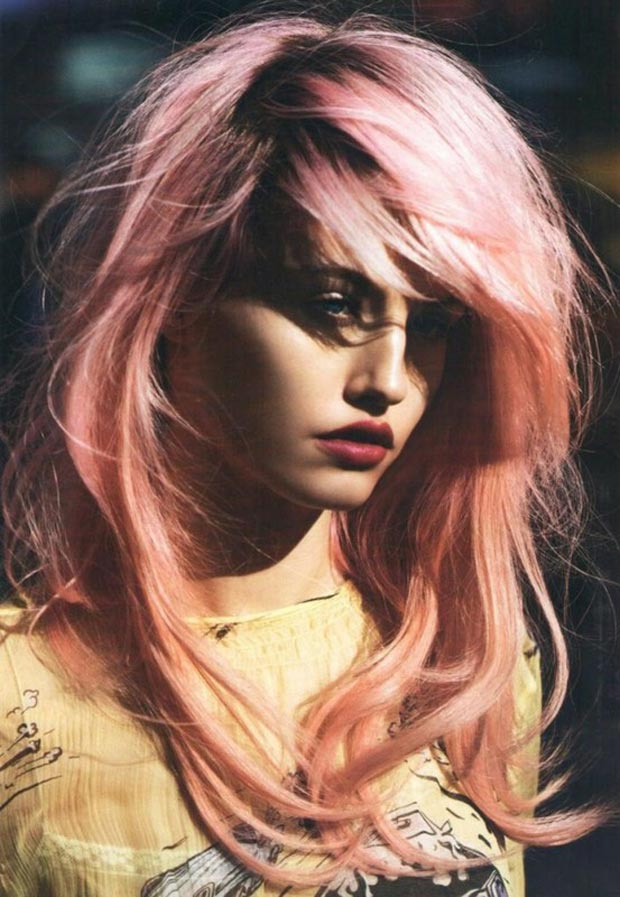 beautiful gradient pink hair