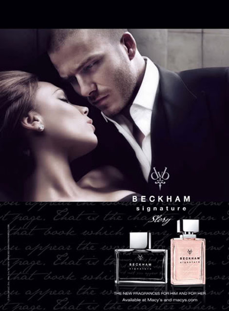 Beckham Signature Story for him her perfumes