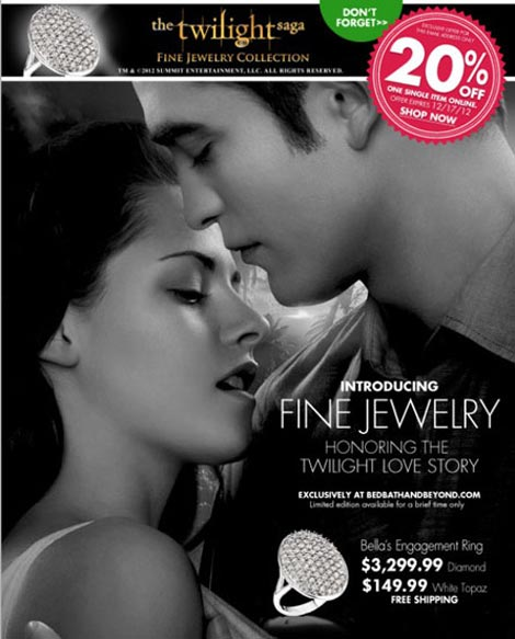Bella Swan's Jewelry Now At Bed Bath & Beyond!