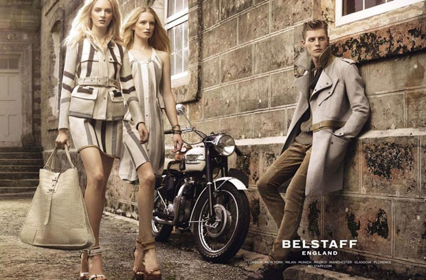 Belstaff Spring Summer 2013 ad campaign