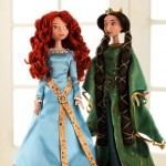 best Christmas gift for little girls Merida Queen Elinor dolls