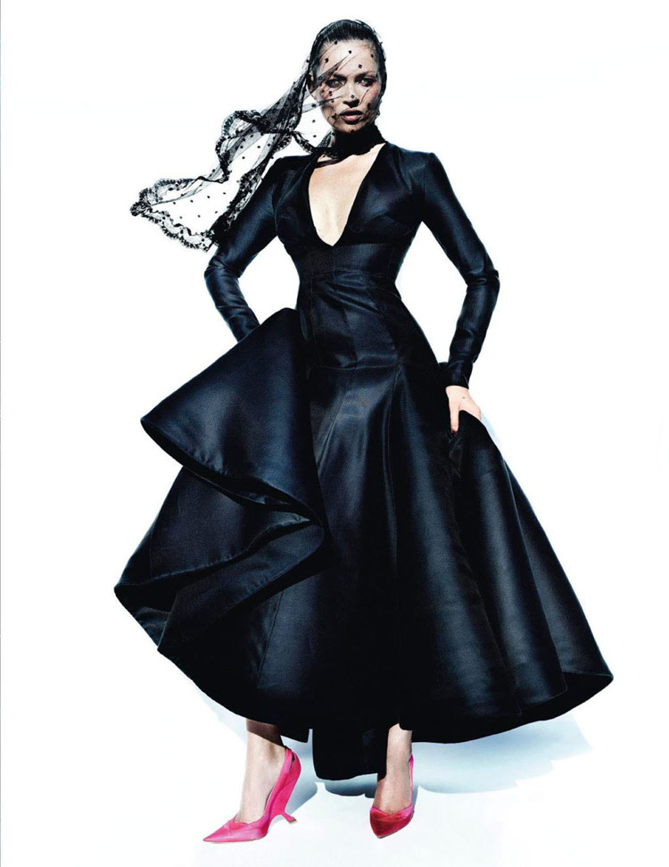 best fashion pictorial Kate Moss Vogue Spain Testino