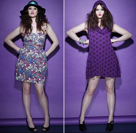 Beth Ditto Evans collection dresses