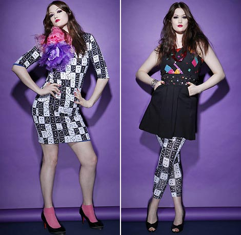 Beth Ditto Plus Size Evans Clothing Collection