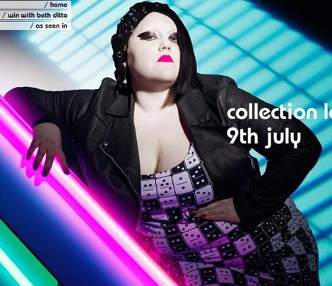 Beth Ditto Evans plus size collection