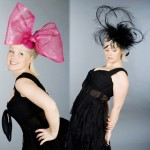 Beth Morgan Fascinators Minnie Ferns