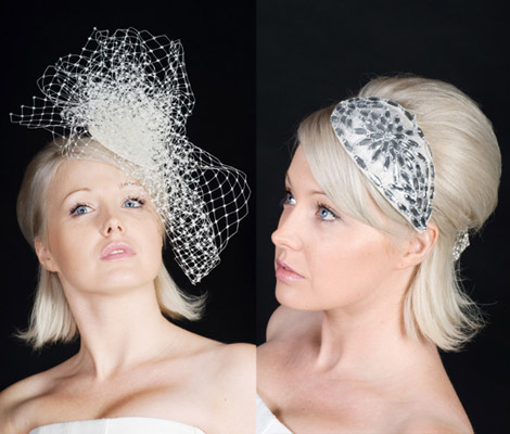 Beth Morgan Fascinators Paris Gem