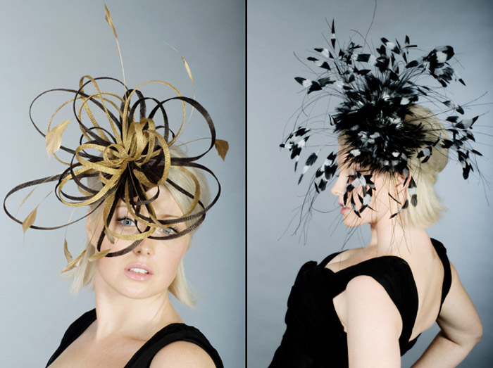 Beth Morgan Fascinators Spaghetti Froth