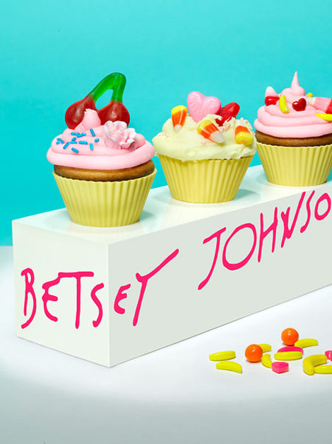 Betsey Johnson cupcakes