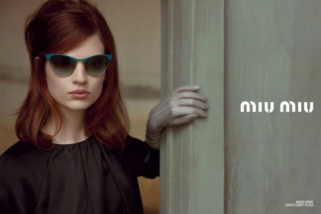 Bette Franke sunglasses Miu Miu Spring 2013