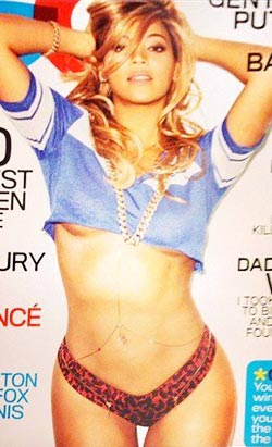 better look at Beyonce s GQ cover