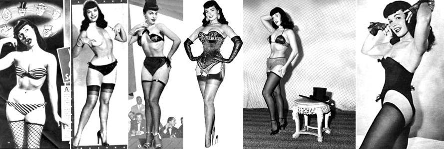 Bettie Page various images