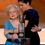 Betty White blue dress 2010 SAG Awards 1