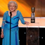 Betty White blue dress SAG 2010
