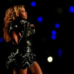 Beyonce stage outfit Rubin Singer Super Bowl Halftime