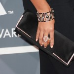 Beyonce 2013 Grammy Awards clutch jewelry
