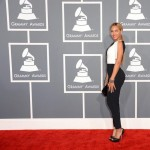 Beyonce 2013 Grammy Awards Red Carpet look