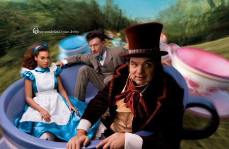 Beyonce Disney Alice in Wonderland by Annie Leibovitz